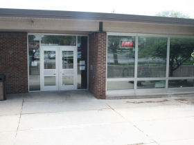 Rear Entrance to the East Library
