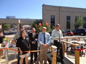 Parklet Opening