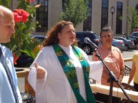 Plymouth Church Pastor Bridgette Flad
