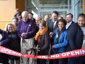 Ribbon Cutting. Photo by Grace Fuhr.