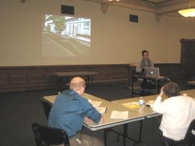 Ray Chi presenting.