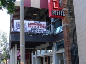 Hotel Foster's exterior.