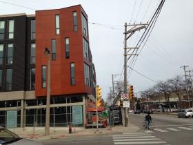 1800 E. North Ave. under construction.