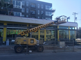 The Standard at East Library Construction