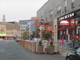 East Side BID Parklet