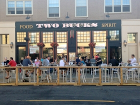 Divino Wine & Dine and Two Bucks Parklet.