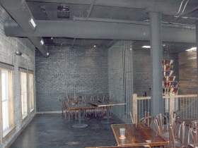 Second floor seating area.