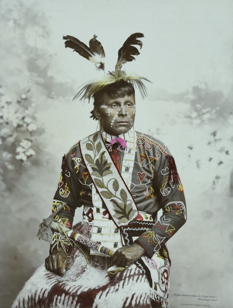 Chach-scheb-nee-nick-ah (Young Eagle), 1904