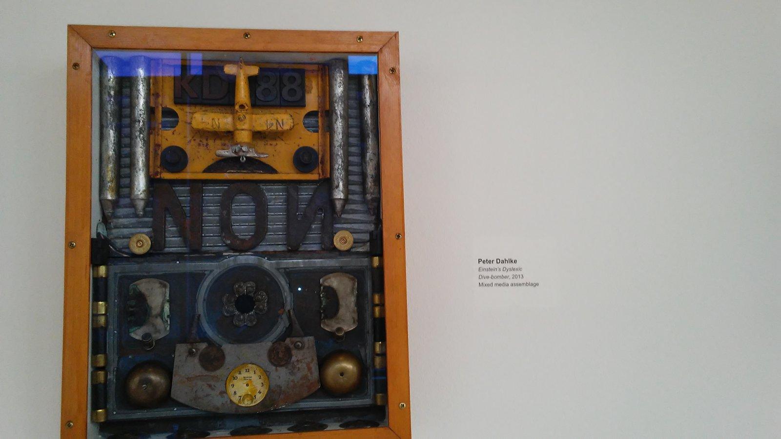Einstein's Dyslexic Dive-bomber by Peter Dahlke