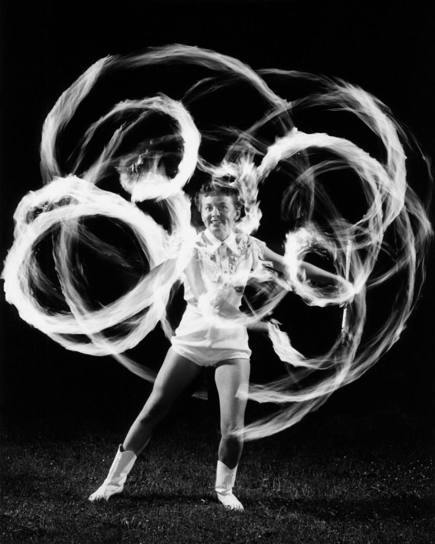 Flaming Baton Twirler, 1956/67