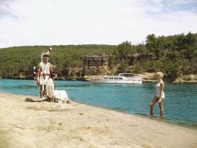 Beach Encounter, ca. 1960
