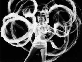Flaming Baton Twirler, 1956/67