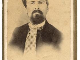 Portrait of Leroy Gates, ca. 1860