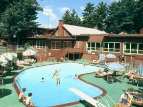 Motel Pool, ca. 1971