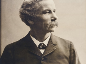 Portrait of H. H. Bennett, ca. 1900