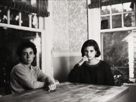 Tom Bamberger, Jane and Sophie, gelatin-silver print, 1984