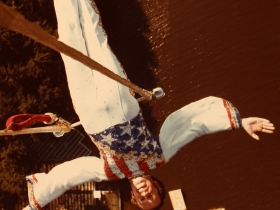 Dave Merrifield and His Helicopter Trapeze Actca. 1977