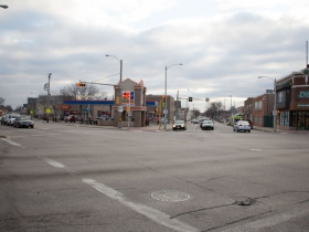 Intersection of S. Cesar E. Chavez Dr. and W. Greenfield Ave.