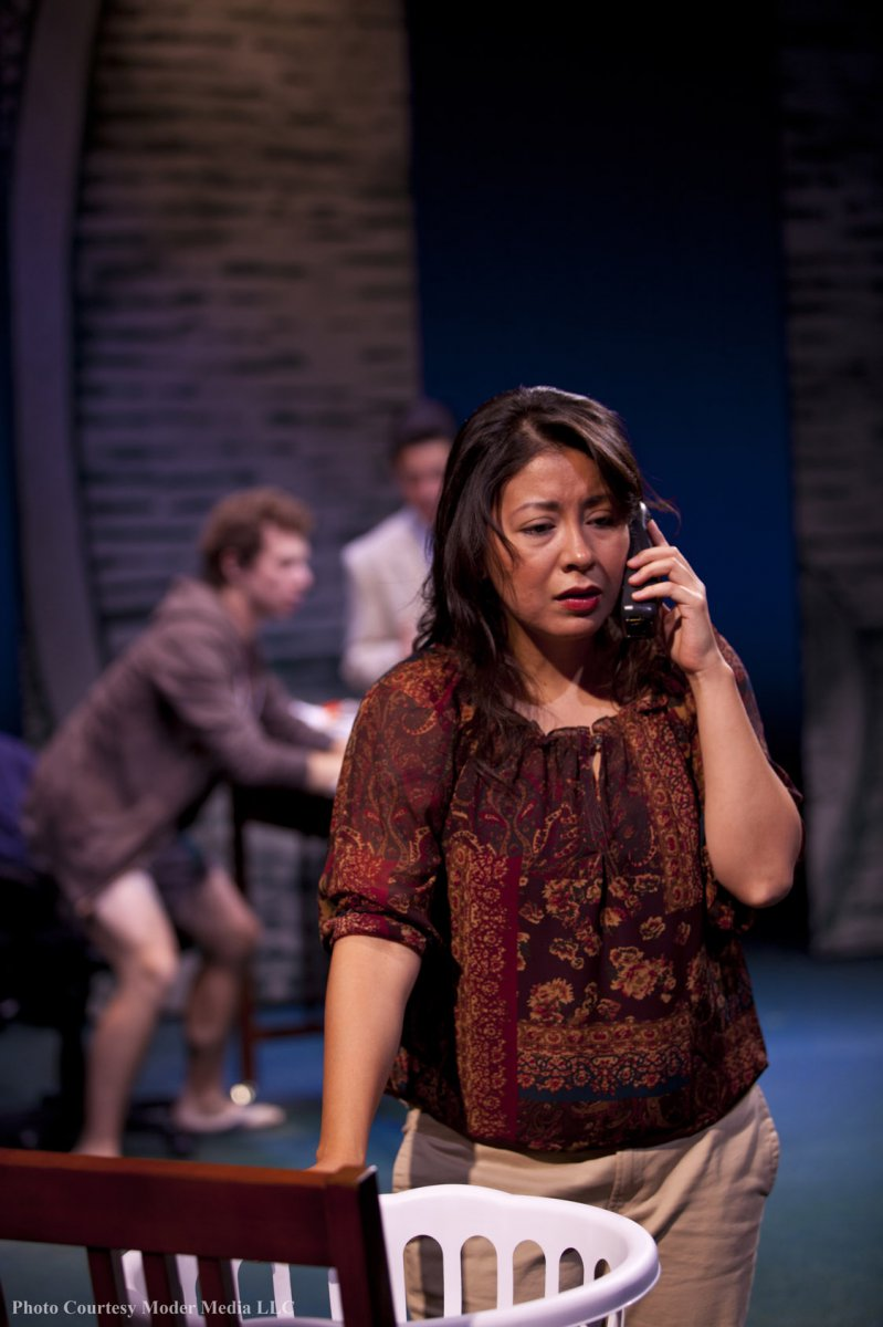 As Mrs. Chavez, an investor in Bennett\'s scheme, Erica Cruz Hernandez plays a critical role in Microcrisis.