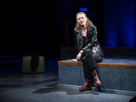 Cassandra Bissell in Next Act Theatre's Three Viewings