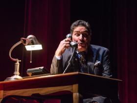 David Cecsarini in Next Act Theatre's Three Viewings