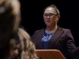 Megan Kim in PRINCIPAL PRINCIPLE