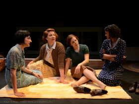 These Shining Lives: Libby Amato, Linnea Koeppel, Anna Figlesthaler, Jade Taylor