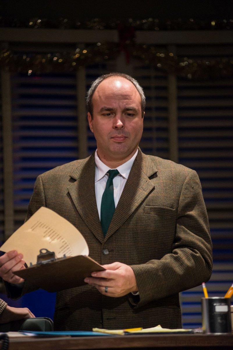 Doug Jarecki in Next Act Theatre\'s unSilent Night.