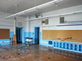 Phillis Wheatley School Before Redevelopment