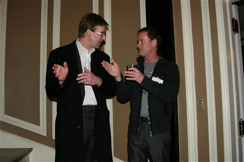 Chris Abele and Andy Nunemaker.