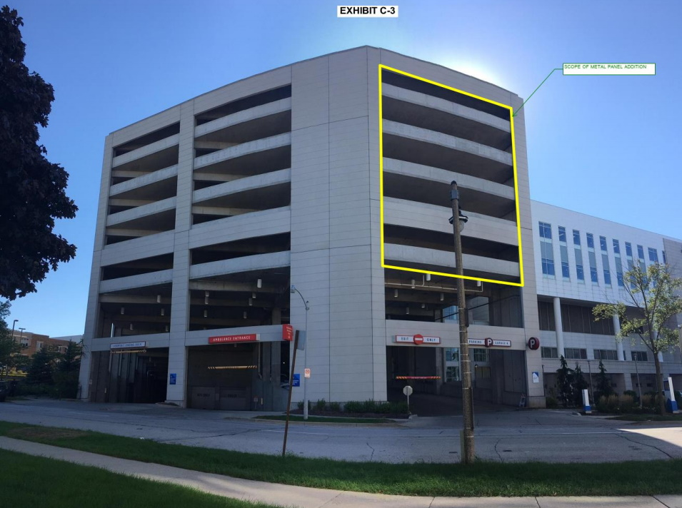 Columbia St. Mary\'s Parking Garage Plan