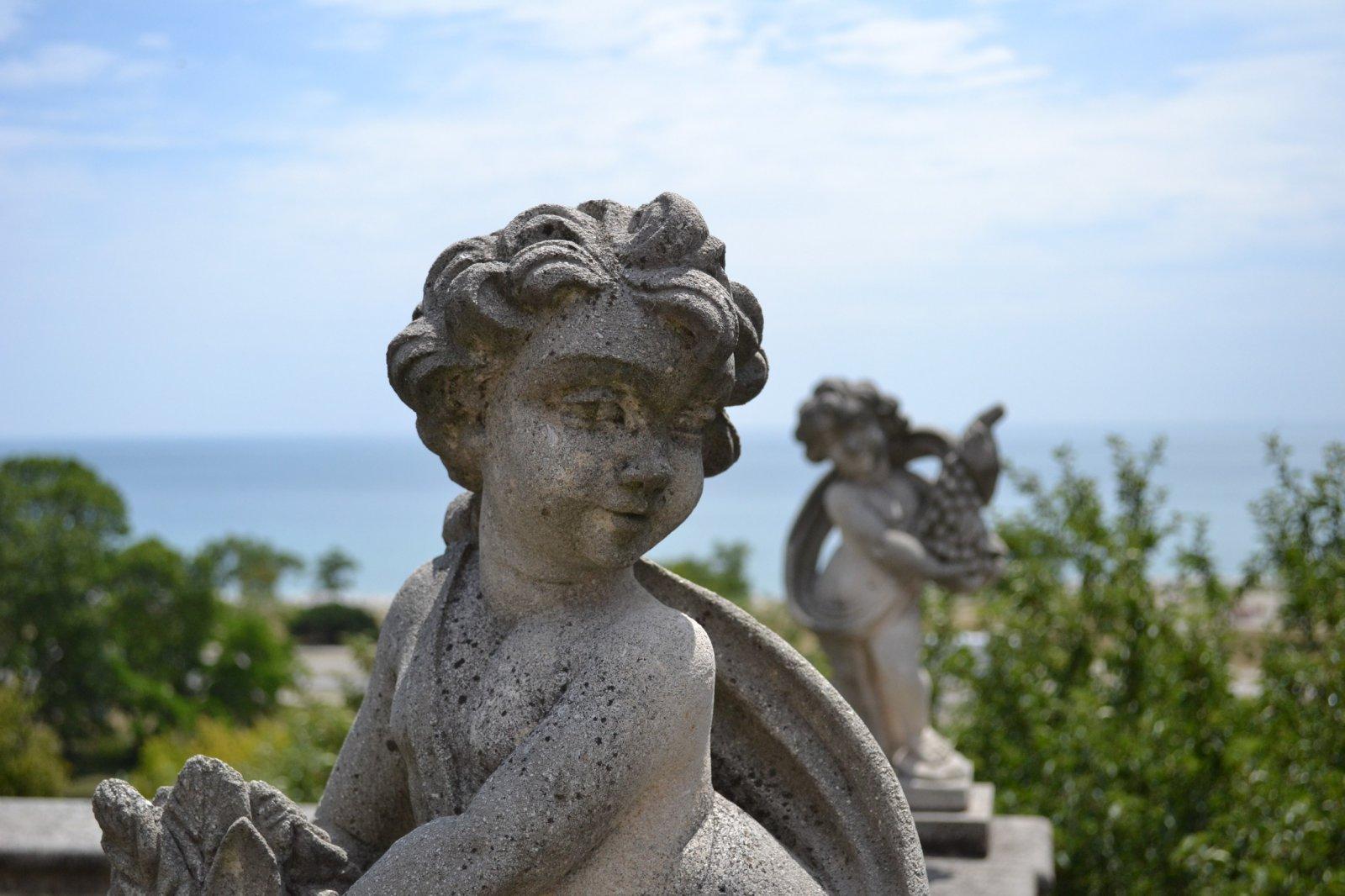 Sculpture at Villa Terrace Decorative Arts Museum