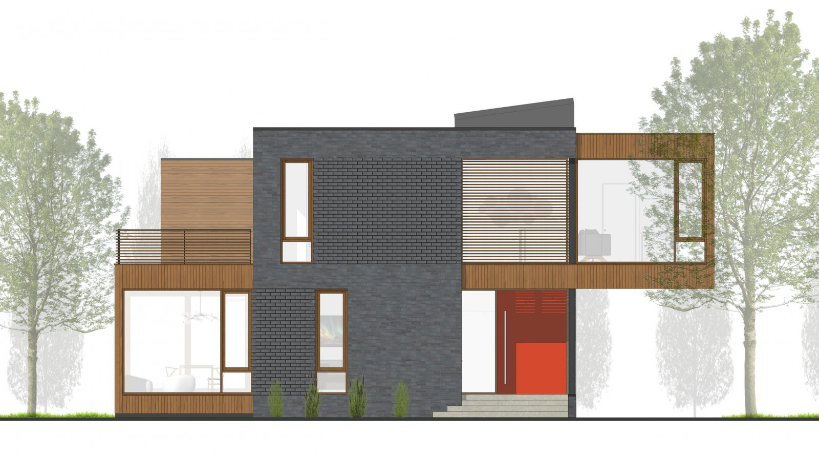 Shuk House Elevation