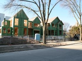 New Houses on N. Terrace Ave.