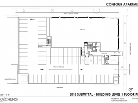 2015 Level 1 Floor Plan