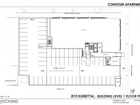 2015 Level 1 Floor Plan