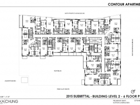 2015 Levels 2-6 Floor Plan