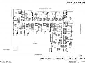 2015 Levels 2-6 Floor Plan