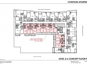 2017 Level 3-6 Floor Plan