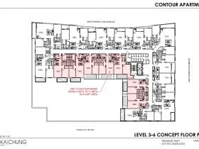 2017 Level 3-6 Floor Plan