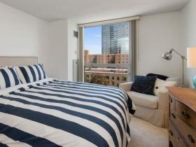 Master bedroom, 1660 N. Prospect Ave. #810