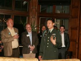 Lt. Dan Choi. Photo by Emily Bunzel courtesy of Equality Wisconsin.