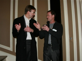 Chris Abele and Andy Nunemaker. Photo by Emily Bunzel courtesy of Equality Wisconsin.