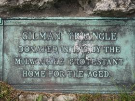 Gilman Triangle marker