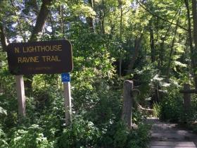N. Lighthouse Ravine Trail