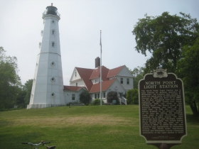 North Point Light Station and Keeper's Quarters