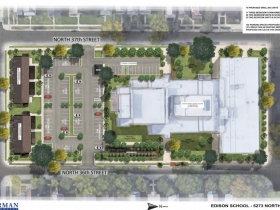 Edison School Site Plan