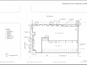Revised Site Plan for Villard Commons