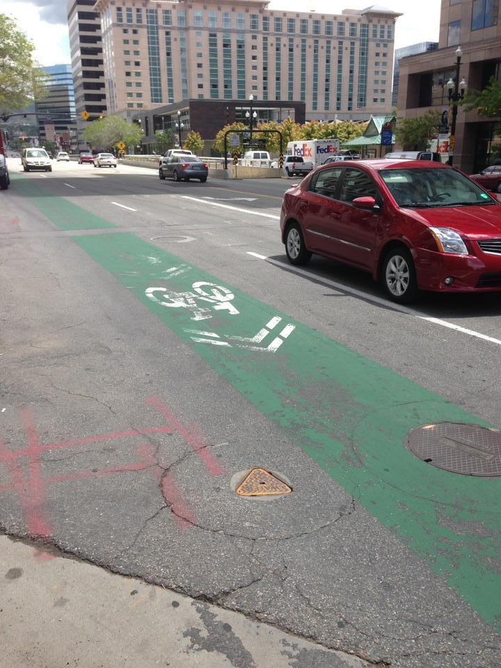 Green lanes in Salt Lake City.
