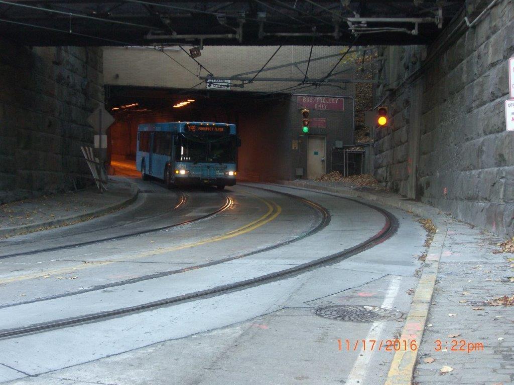 Mt. Washington Tunnel Pittsburgh